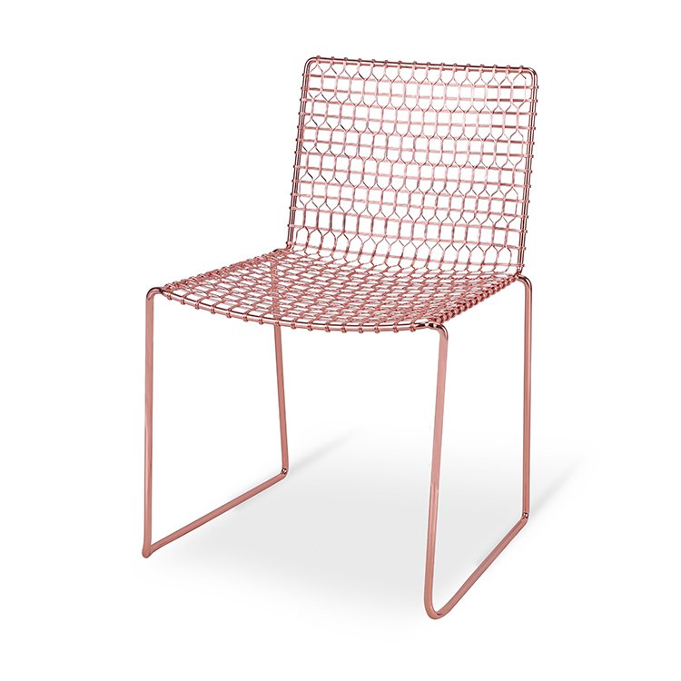 Modern Metal  Wire Dining Chair Factory