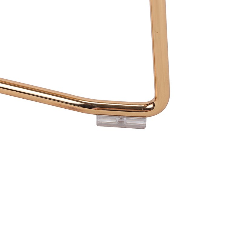 Steel Bar Stool In Gold Color