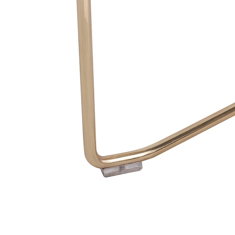 Gold Wire Metal Bar Stool